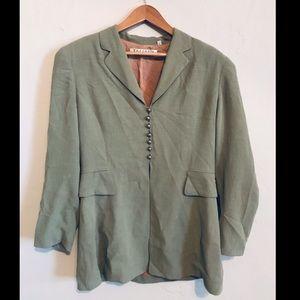 Tahari Sage Green Suit Jacket